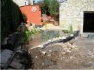 A tóépítés lépései - Balatonlelle - kertépítés képek