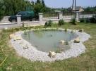 Kerti tó építése - Révfülöp - kertépítés képek