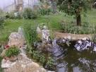 Elkészült a kerti tó - Badacsonytomaj - kertépítés képek