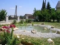 Egyszerű kerti tó